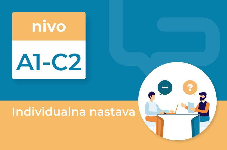 Individualna nastava za odrasle A1-C2